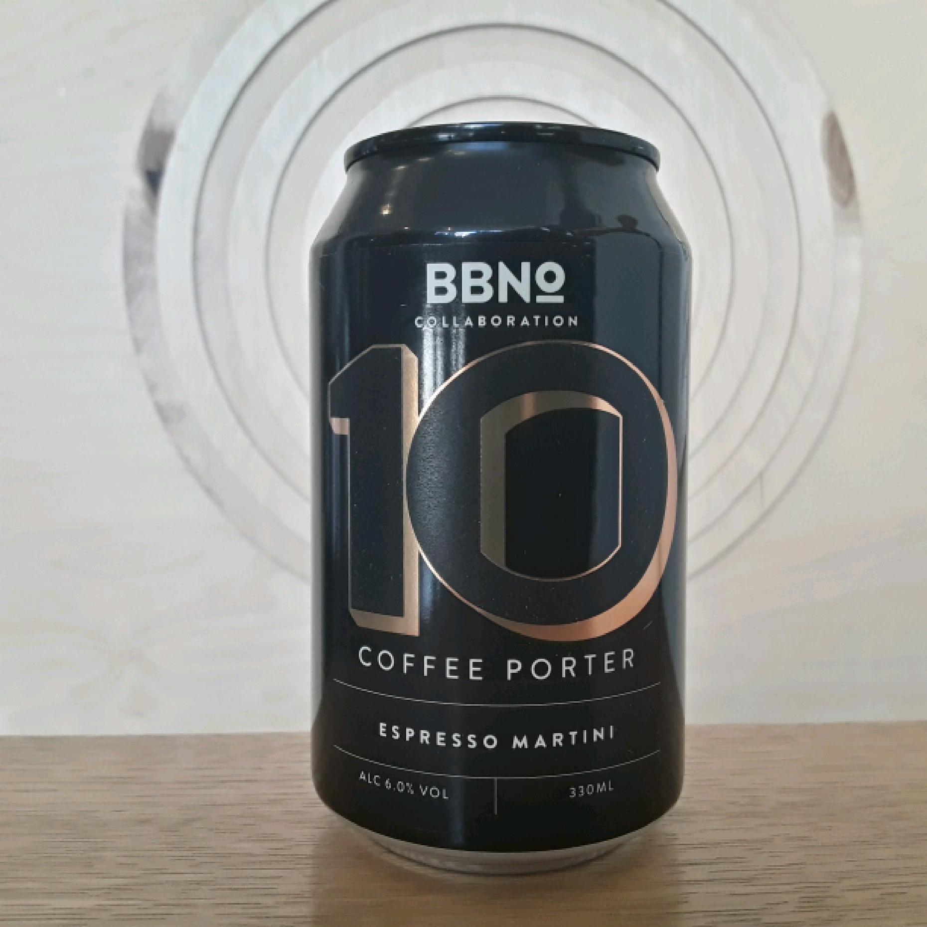 BBNO 10 Coffee Porter Espresso Martini