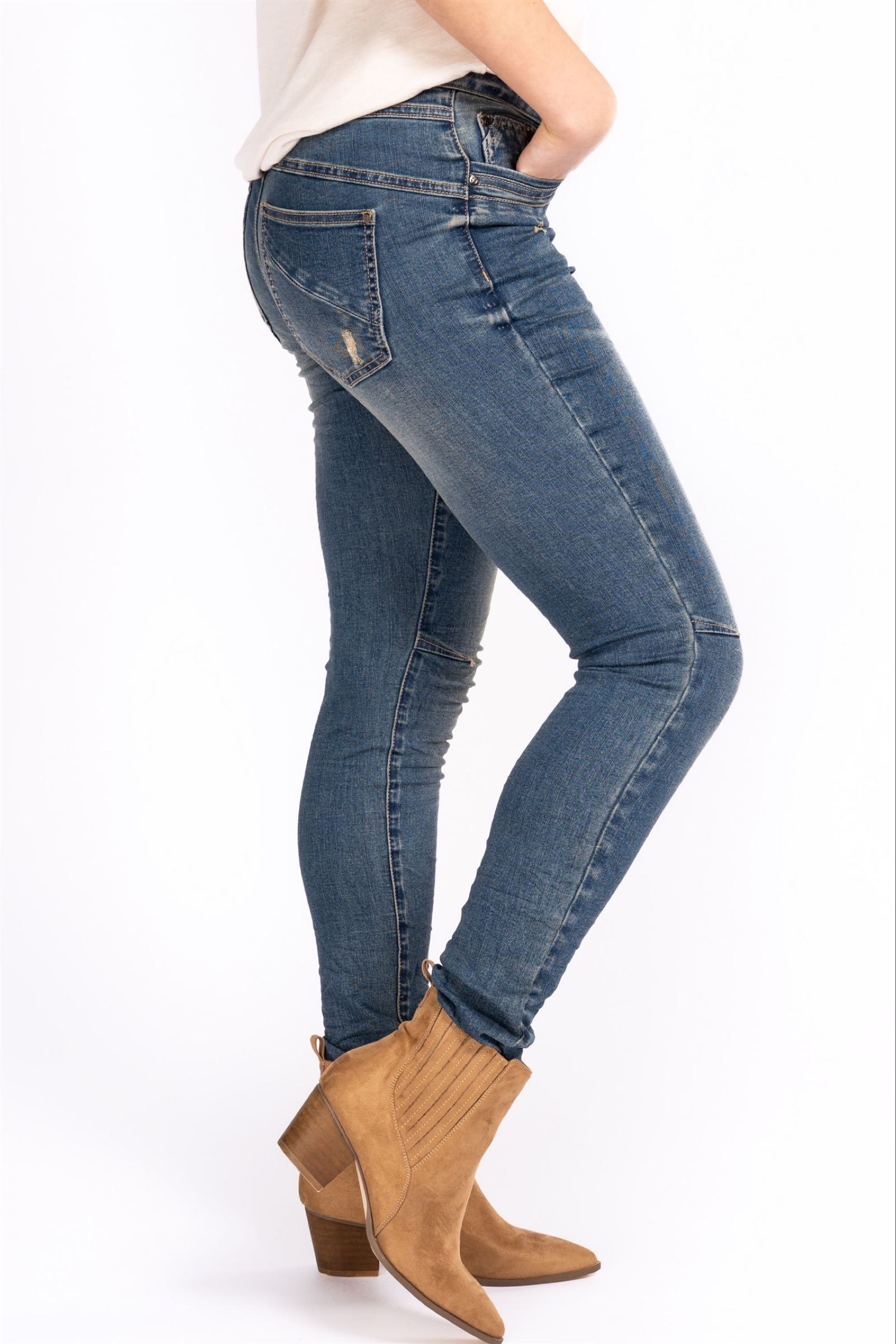 Liberte jeans, Blue denim