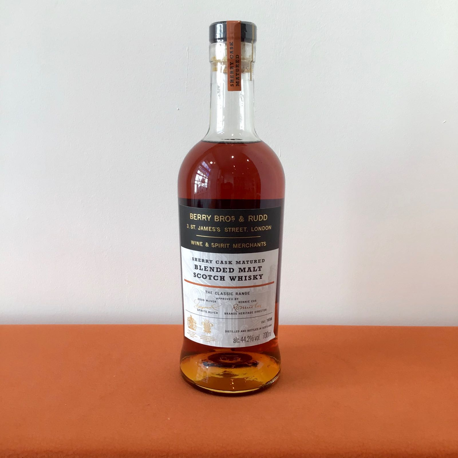 Berry Bros & Rudd:  Classic Sherry Blended Malt Whisky