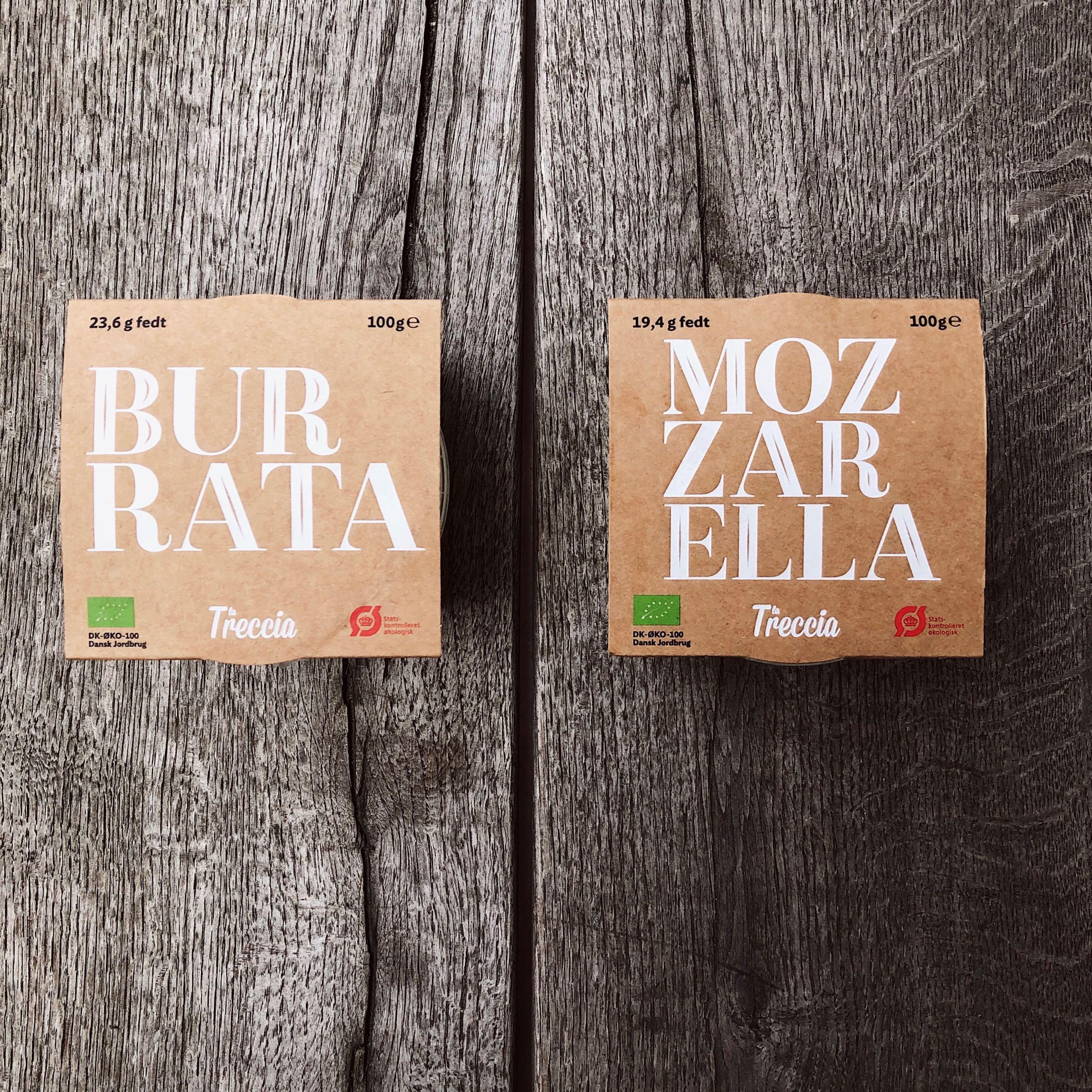 Burrata & Mozzarella från La Treccia