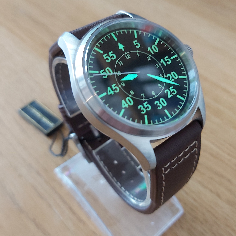 San Martin SN030-G Flieger-B Pilot's Series Watch