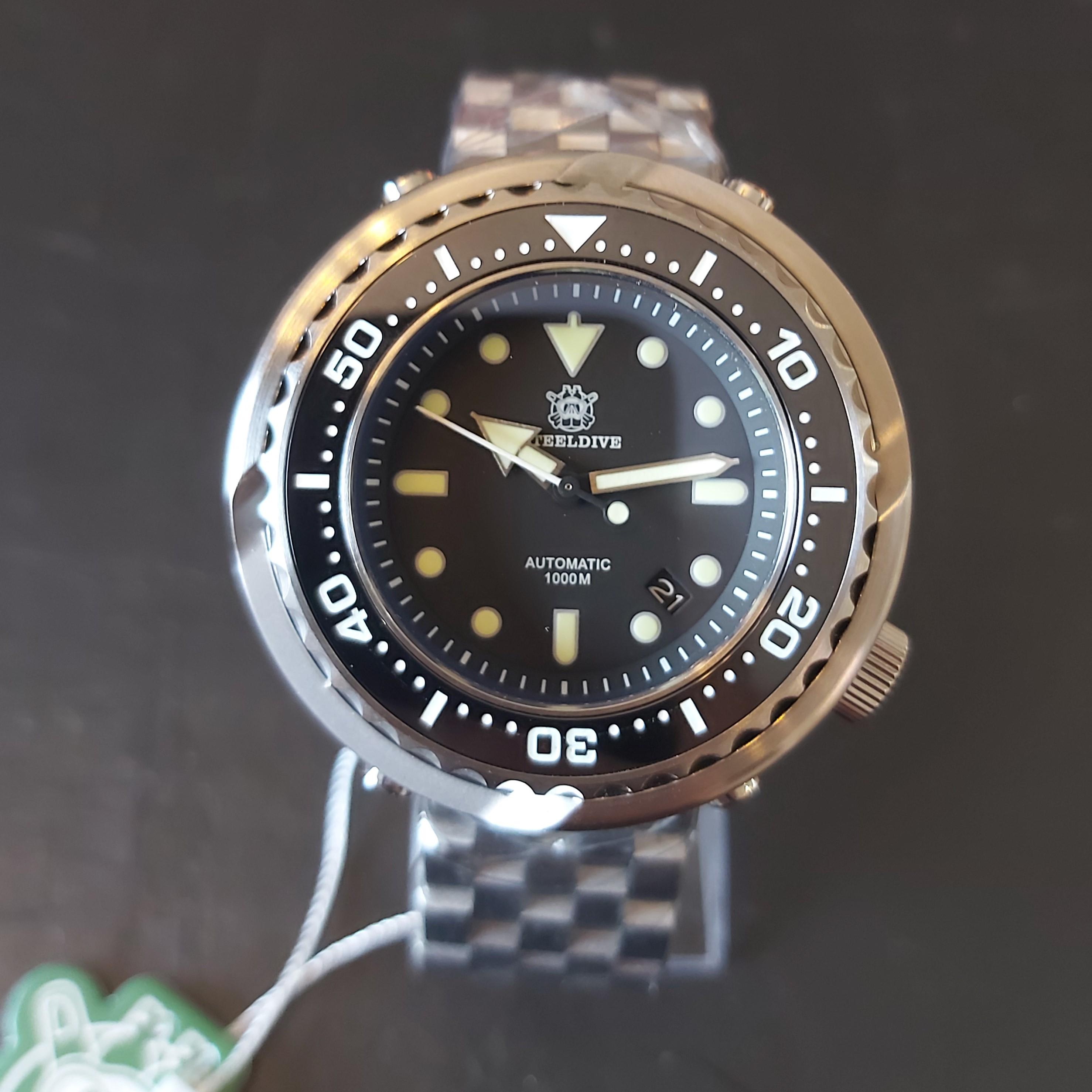 Steeldive SD1978 1000m EMPEROR TUNA Diver's watch