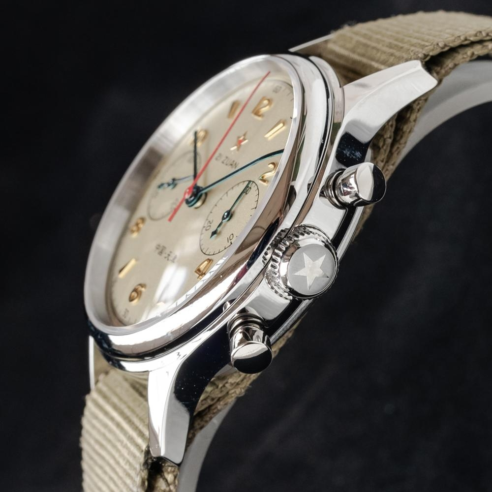 Sugess Seagull 1963 ST1901 Chronograph: CLASSIC 38mm