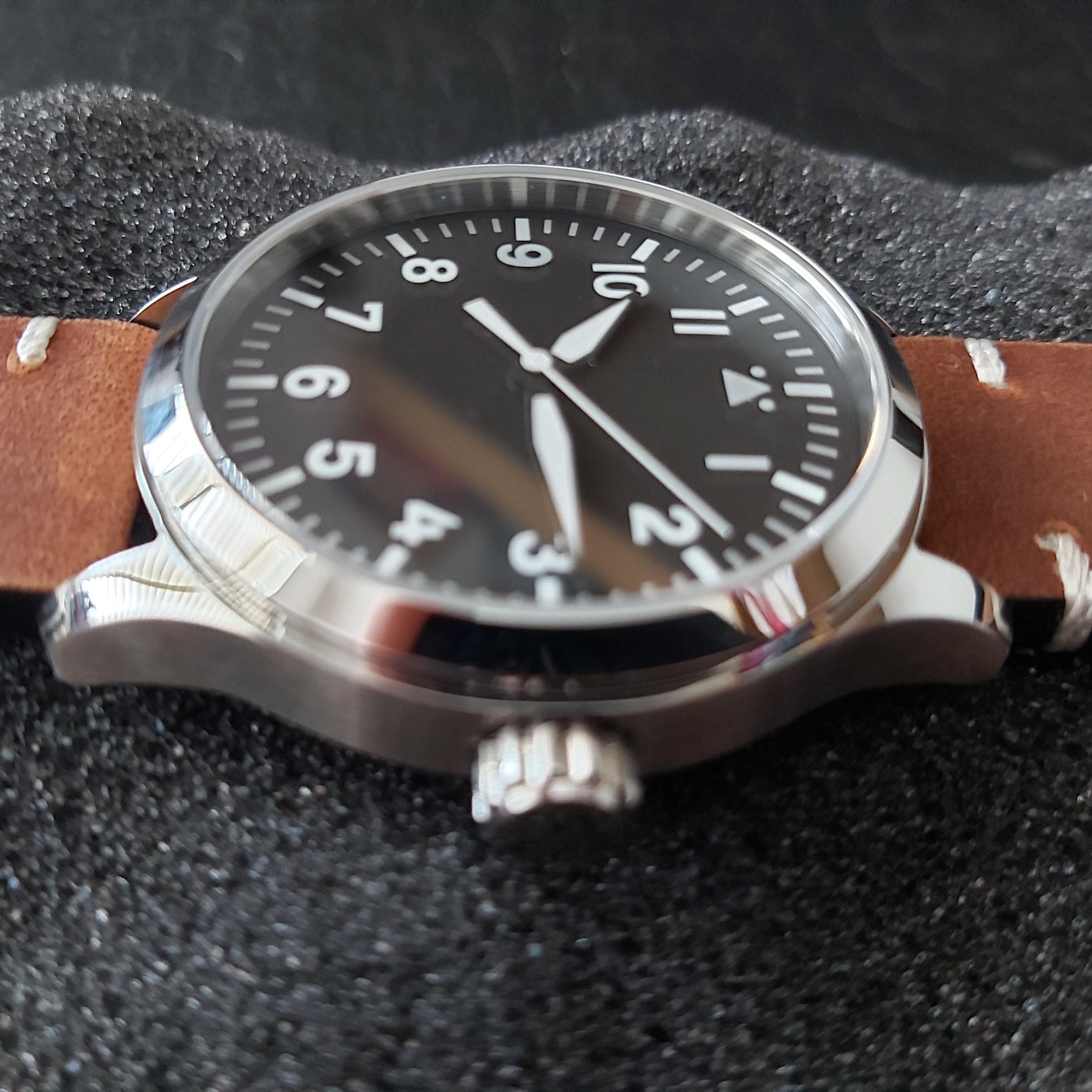 Corgeut Flieger-A 42mm Sapphire Pilot's watch