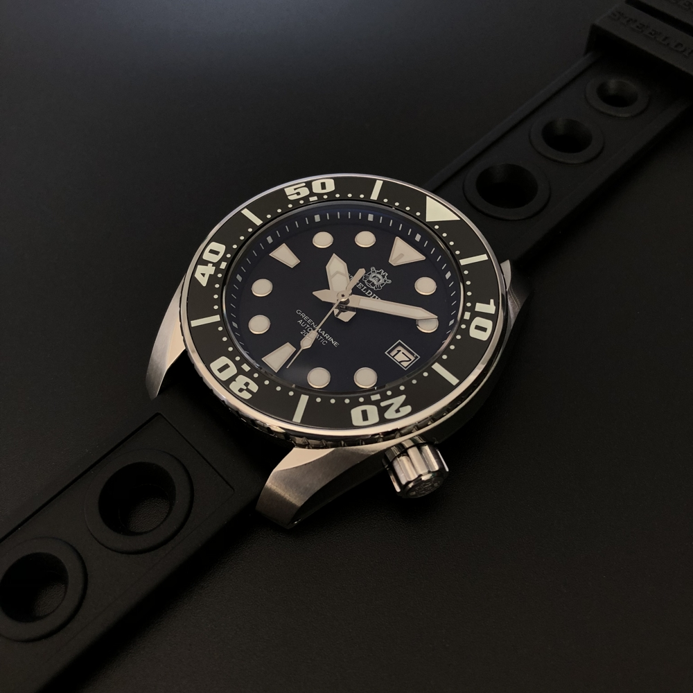 "Steeldive SD1971 2020 Version 200m Divers watch - The ""SUMO"" Homage"