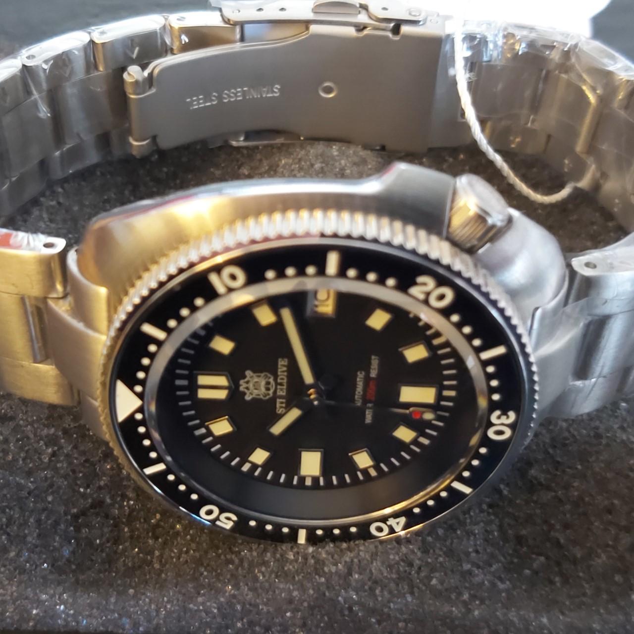 """SteelDive SD1970 Diver's Watch - The NEW 2021 Version Cpt Willard 6105 """"TURTLE"""" Homage"""
