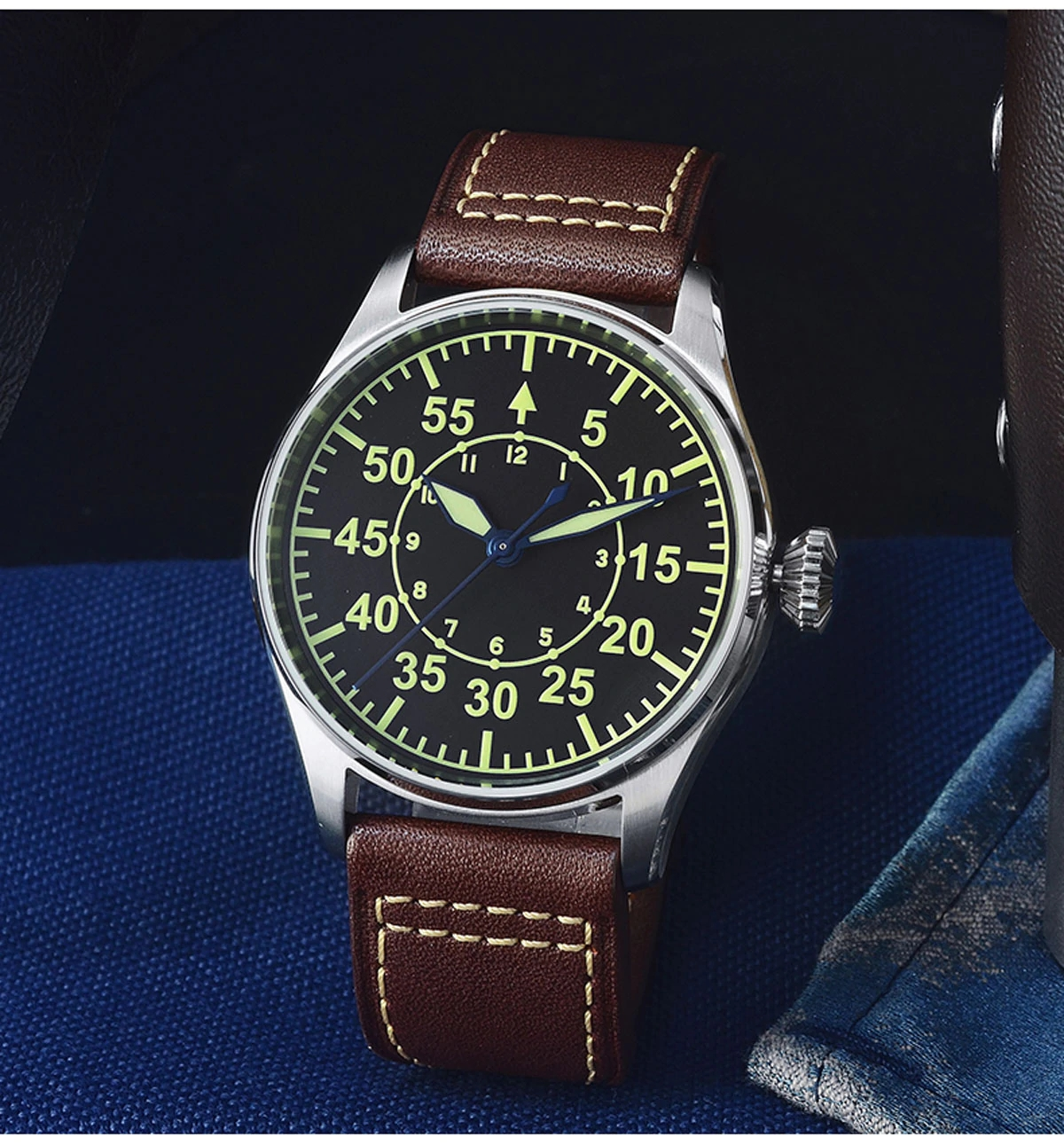 San Martin SN060-G Flieger-B Pilot's Series Watch
