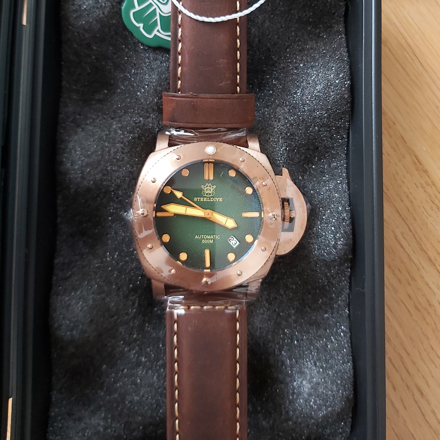 SteelDive SD1956S Bronze