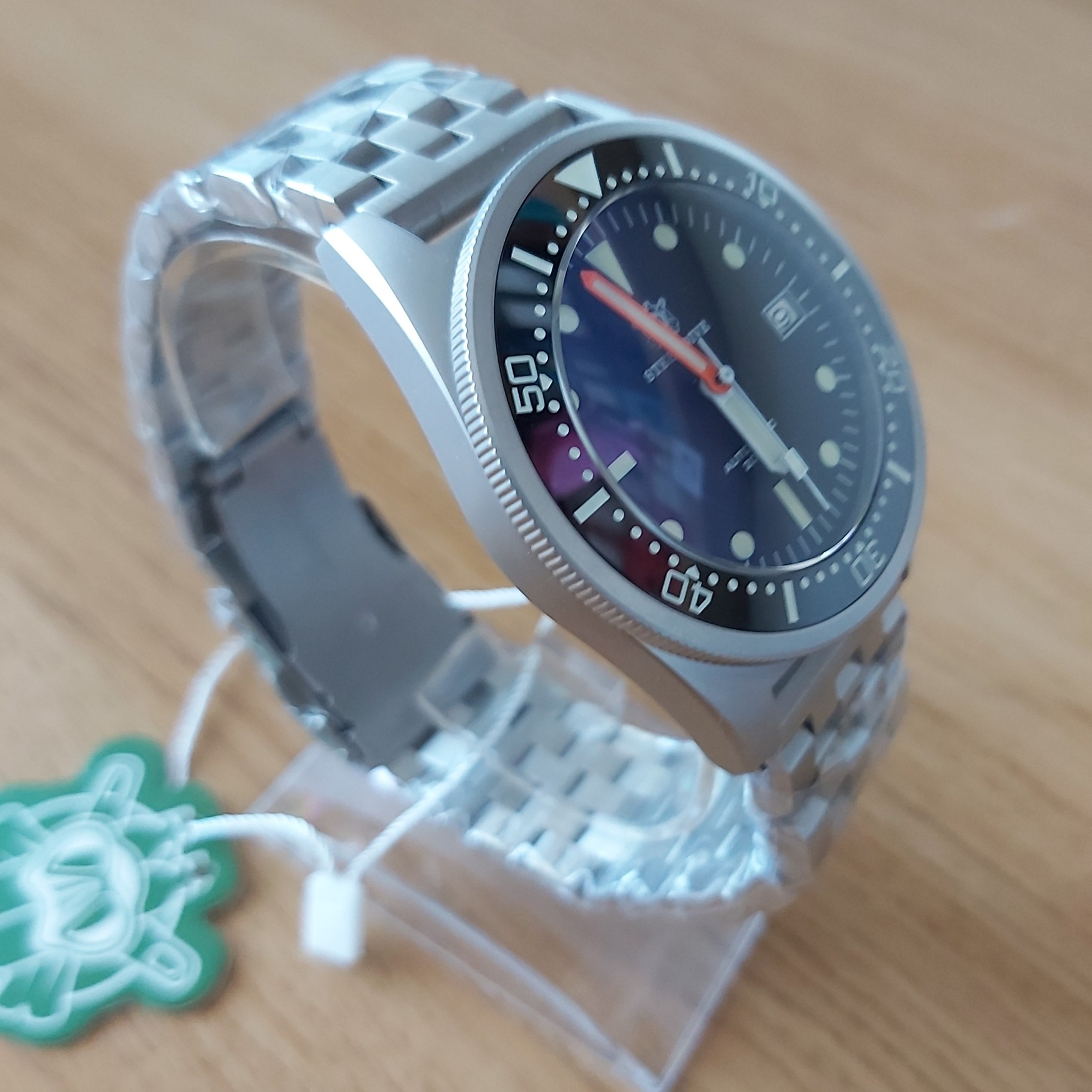 "Steeldive SD1979 2020 Version 200M Diver's Watch - The SQUALE ""50 Atmos"" Homage"
