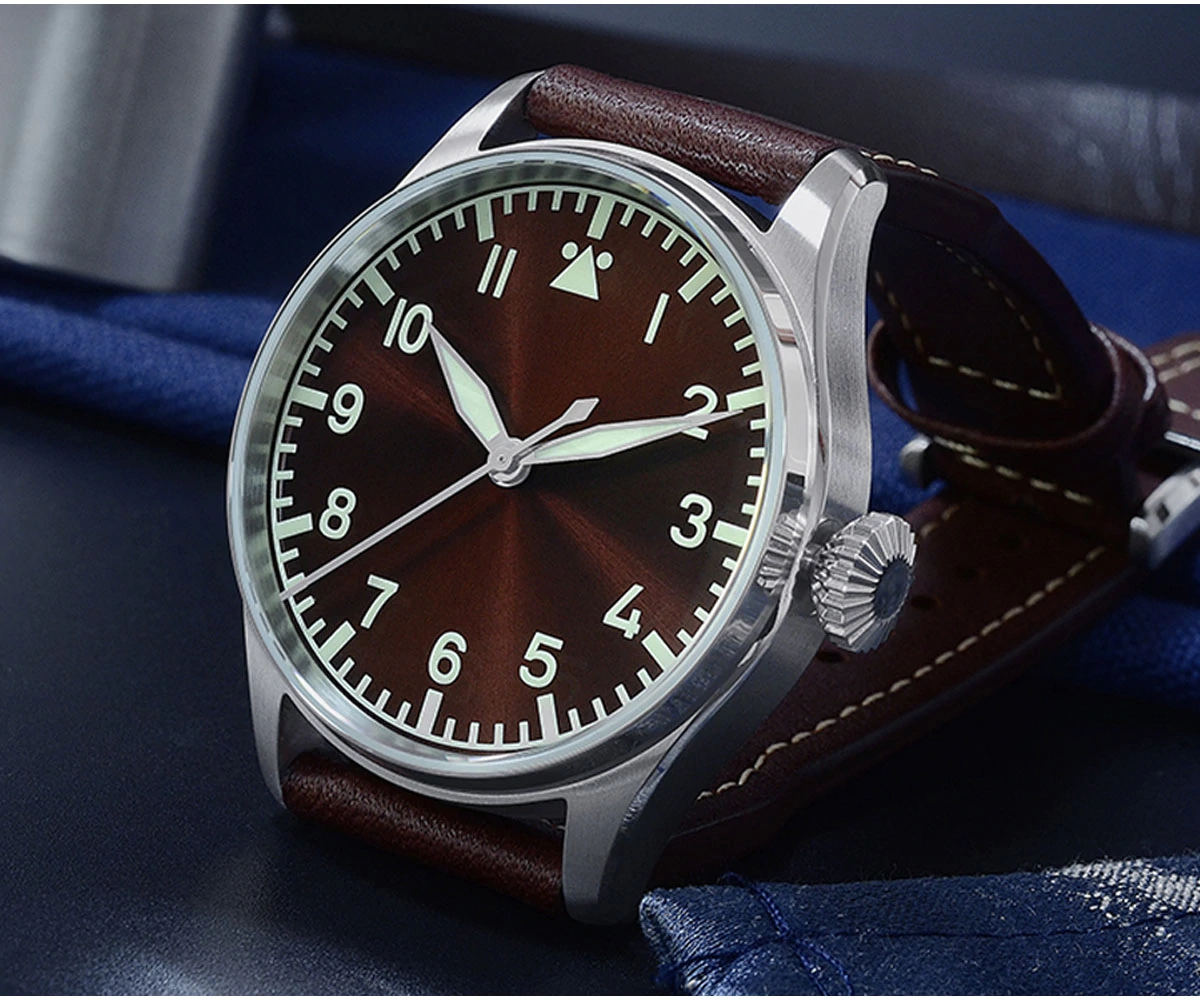 San Martin SN060-G Flieger-A Pilot's Series Watch