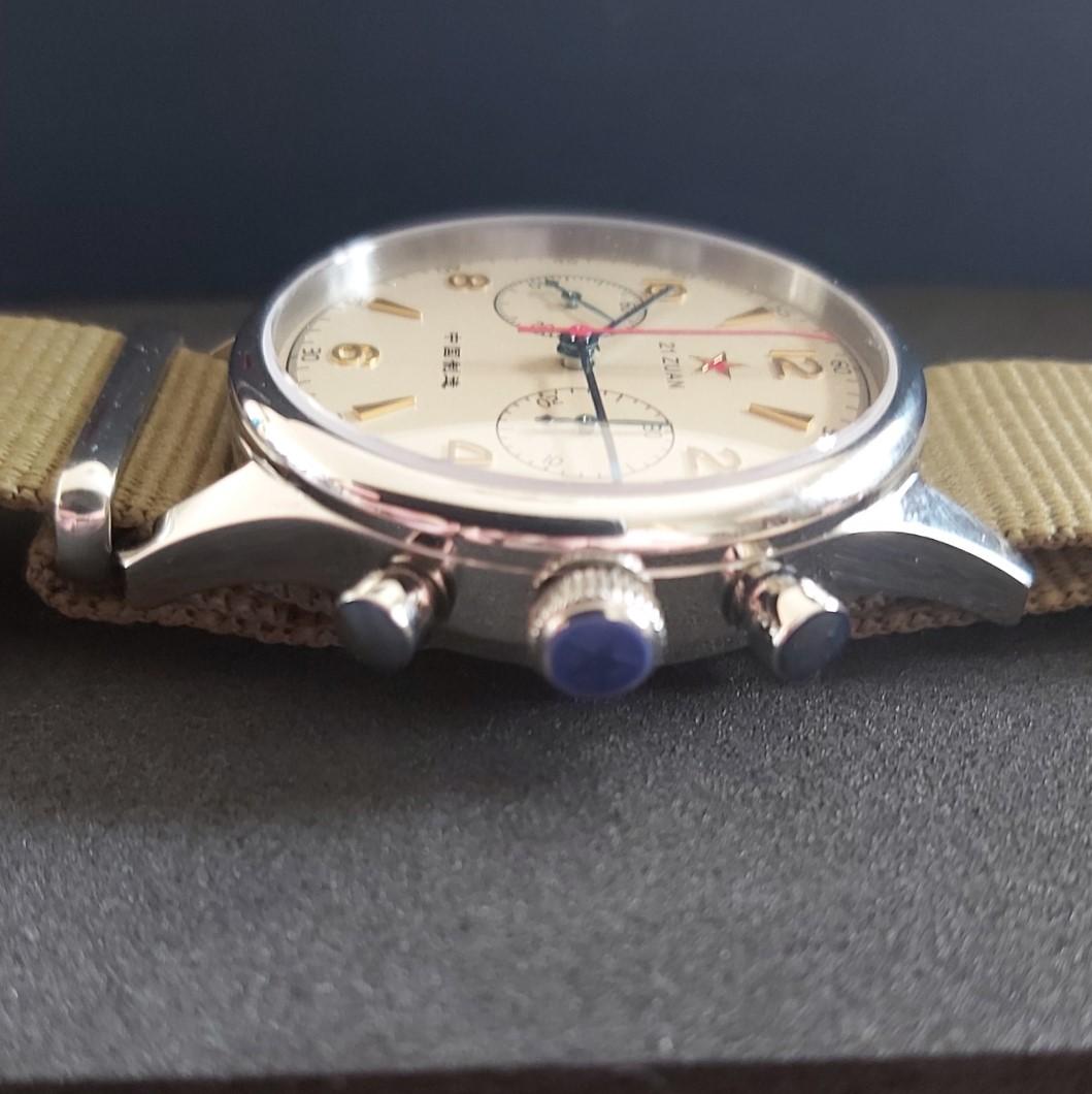 Sugess Chrono Hertiage SU1963S40 Seagull 1963 Chronograph: 40mm