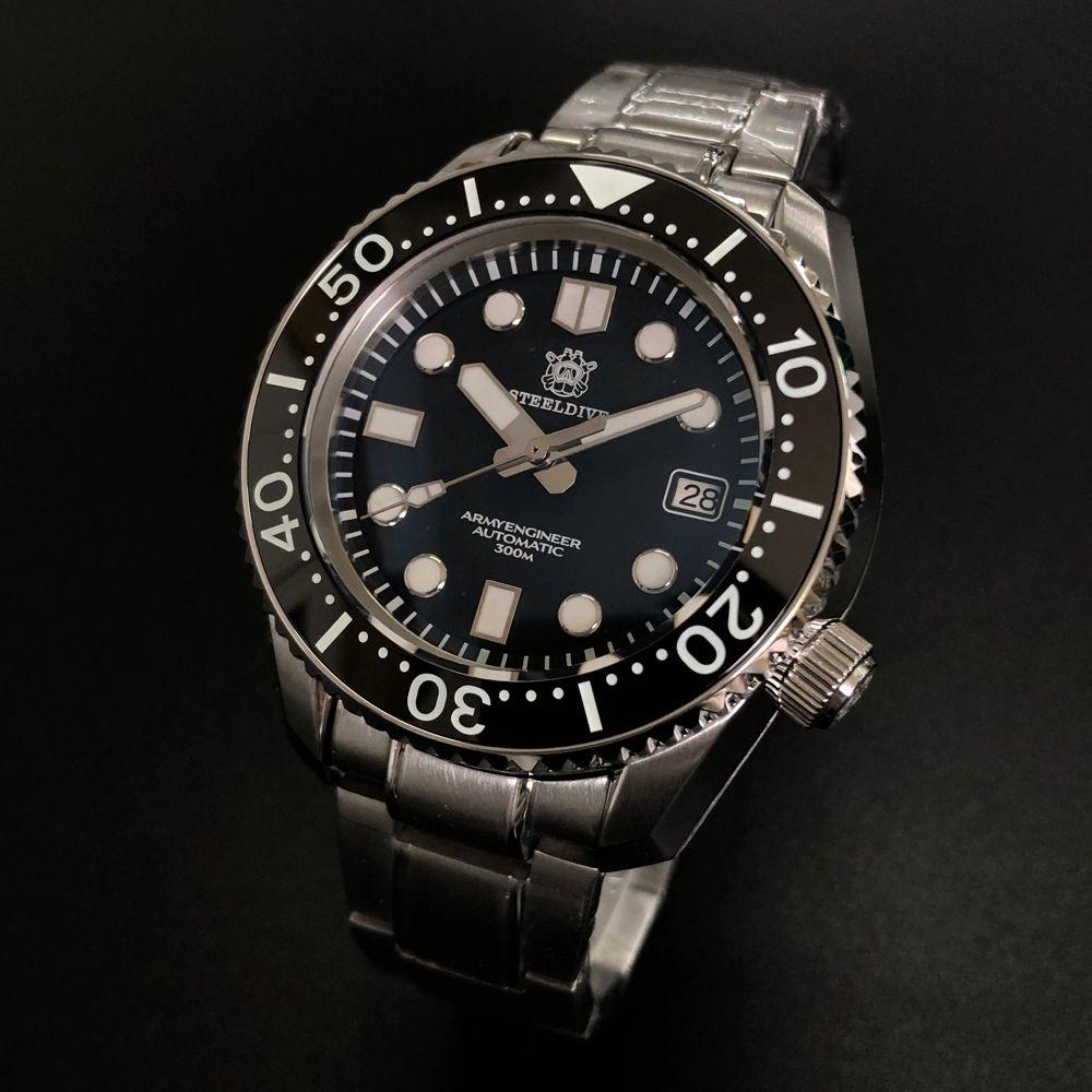 "Steeldive SD1968 Monobloc 300M Watch - The ""SBDX"" Homage"