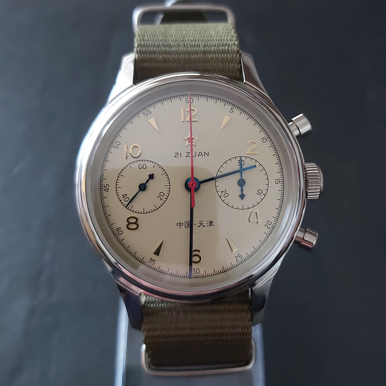 Sugess Chrono Heritage SU1963BN Seagull 1963 Chronograph: Classic 38mm