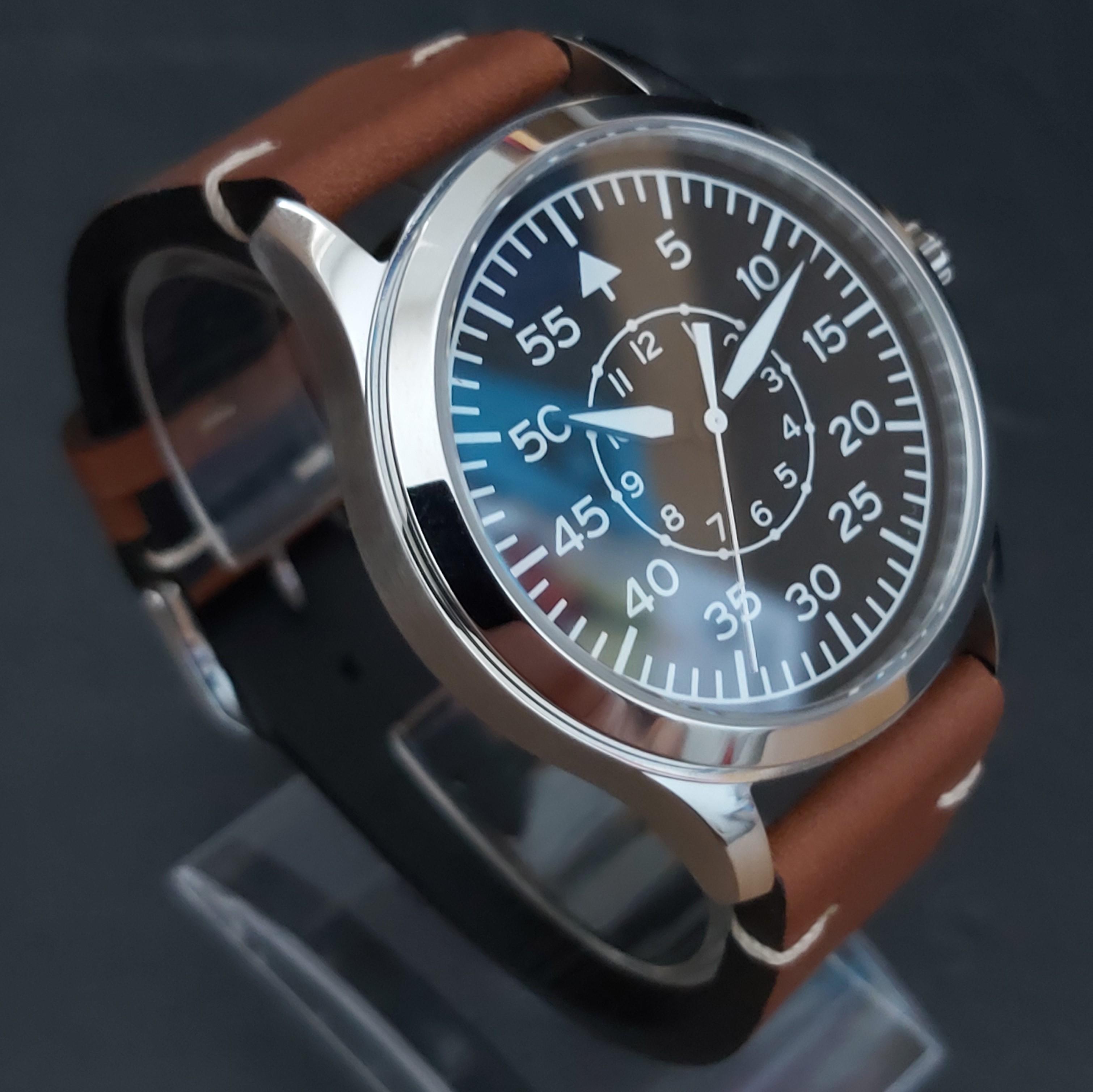 Corgeut Flieger-B 42mm Sapphire Pilot's watch
