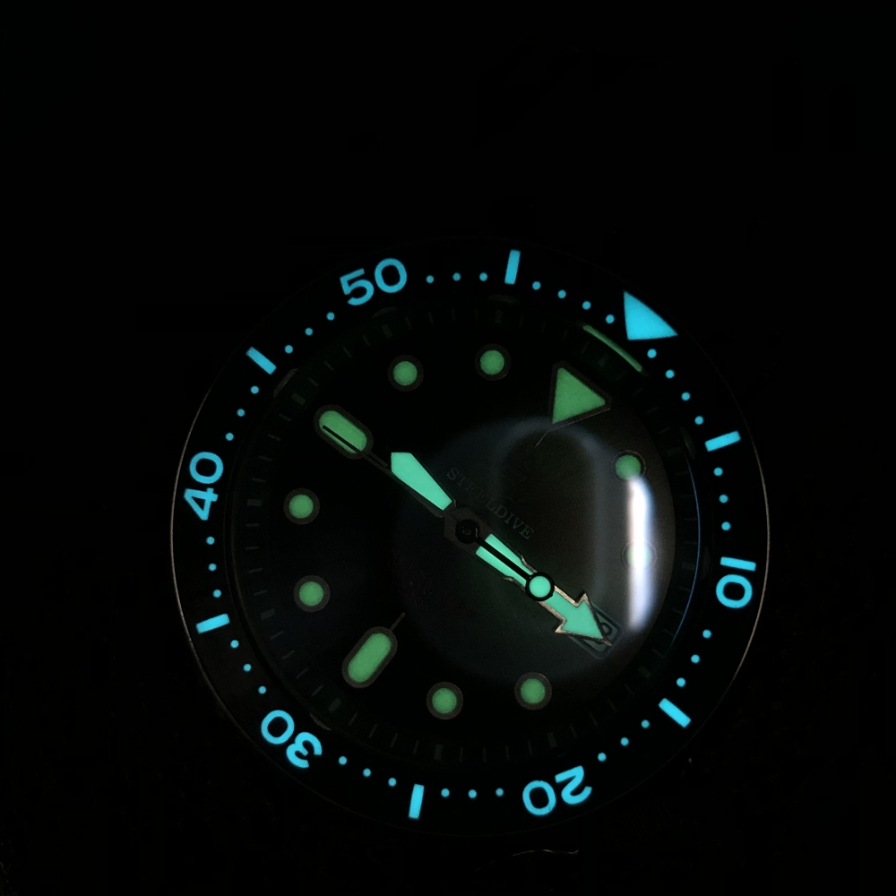 """Steeldive SD1996AC UPGRADED 200m NH35 Diver's Watch - The """"SKX"""" Homage"""