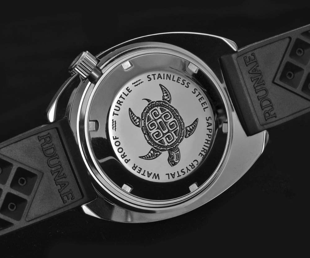 Retangula Rdunae 6105-8000 Homage: Black & Silver