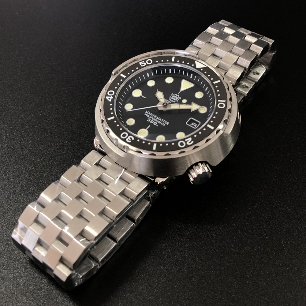 "Steeldive SD1975 300M Diver's Watch - The ""TUNA"" Homage"