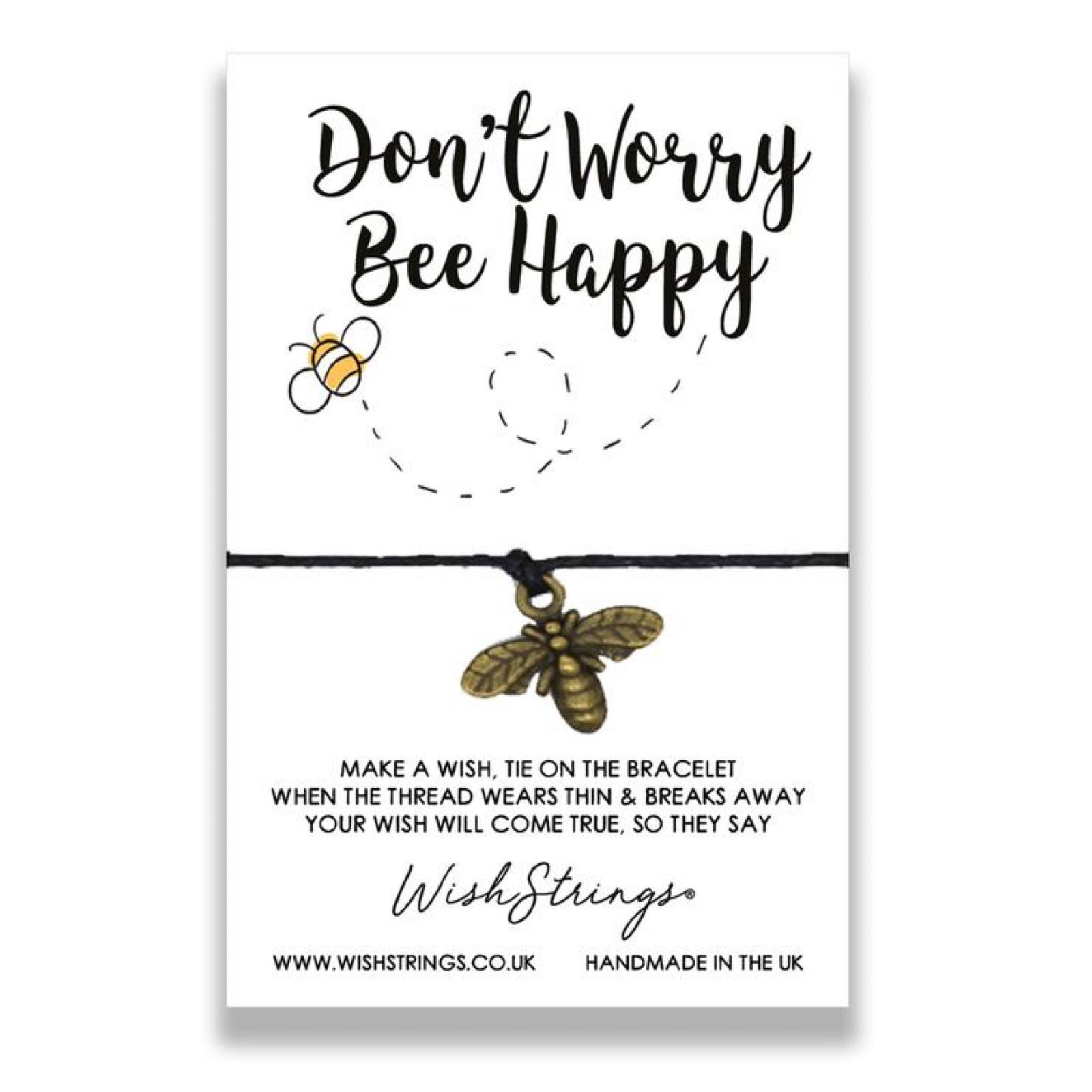 *Sale* Bee Happy Wish String