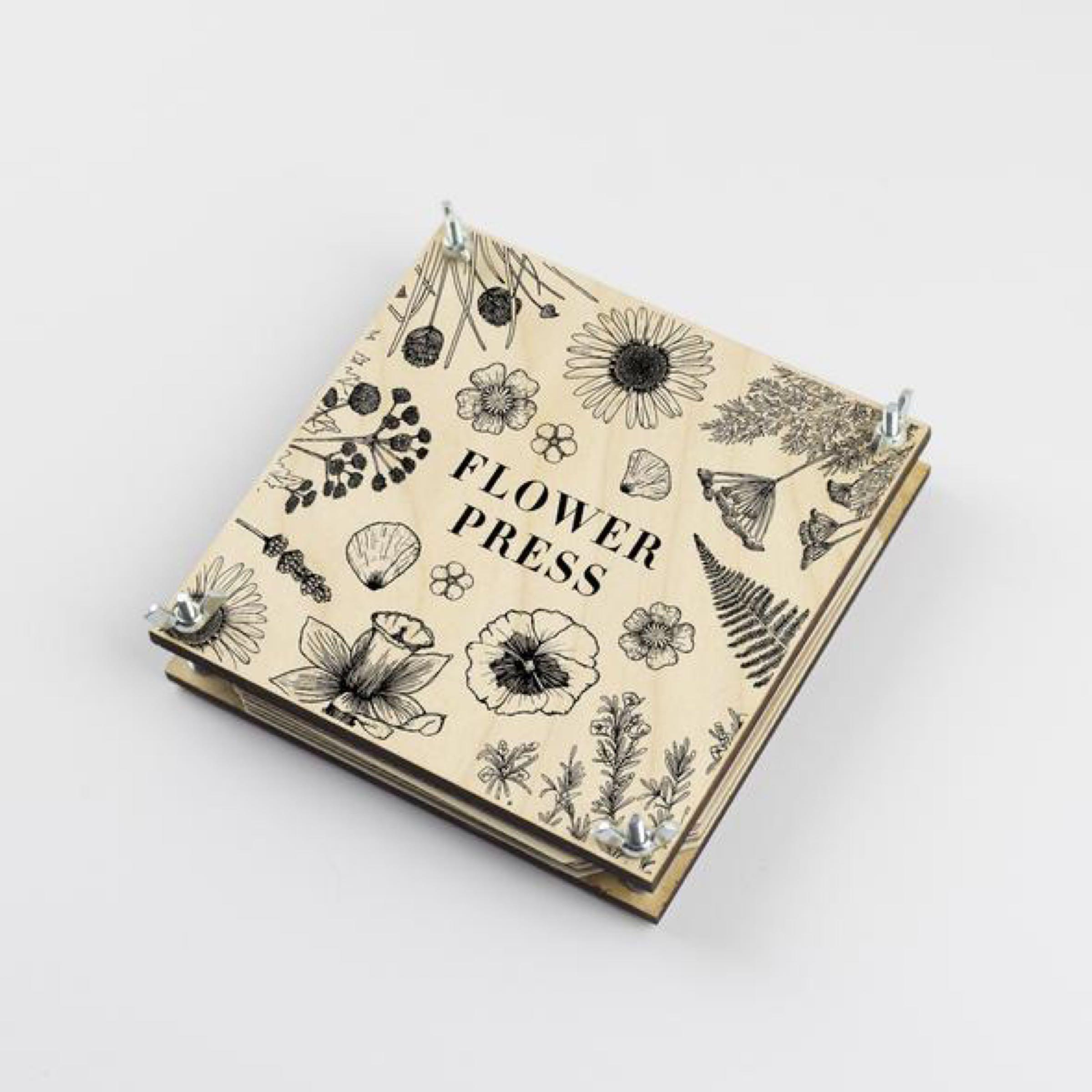 Flower Press - Line by Studio Wald