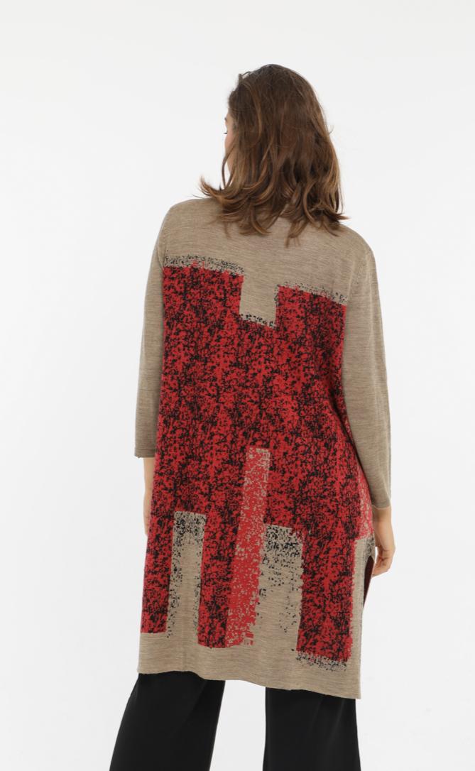 Neslay Knitted Coatigan