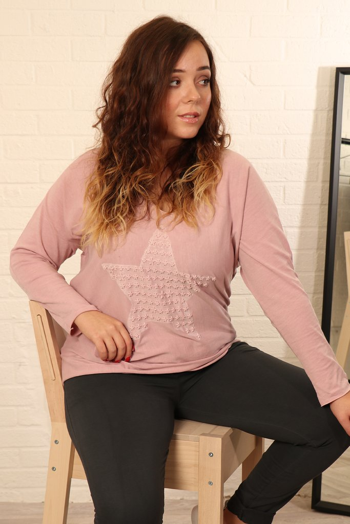 Pure Cotton Star Lounge Top