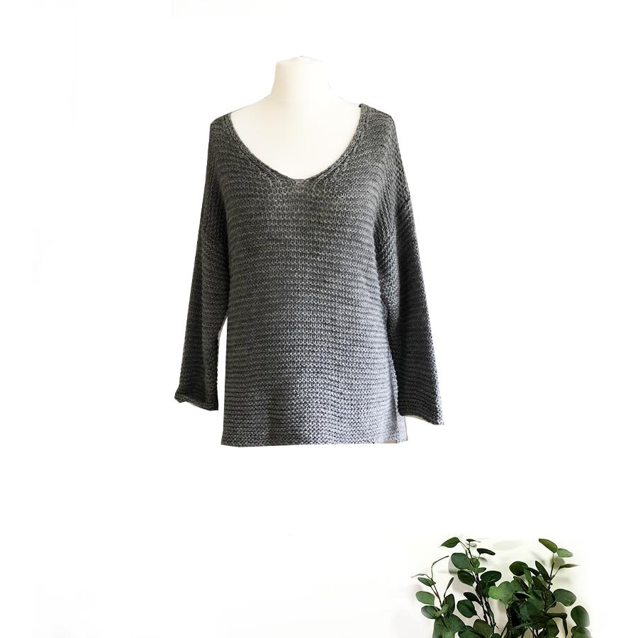 Ladder Knit Sweater