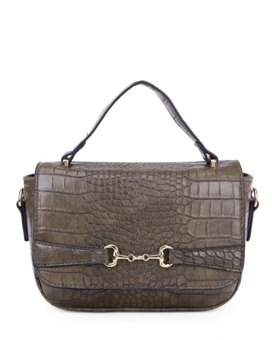 Designer  Inspired Handbag Dark Grey