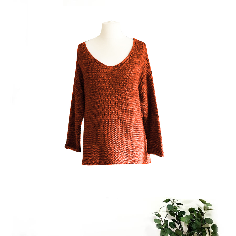Ladder Knit Sweater