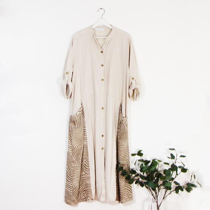 Long Linen Dress Sarah Tempest Designs
