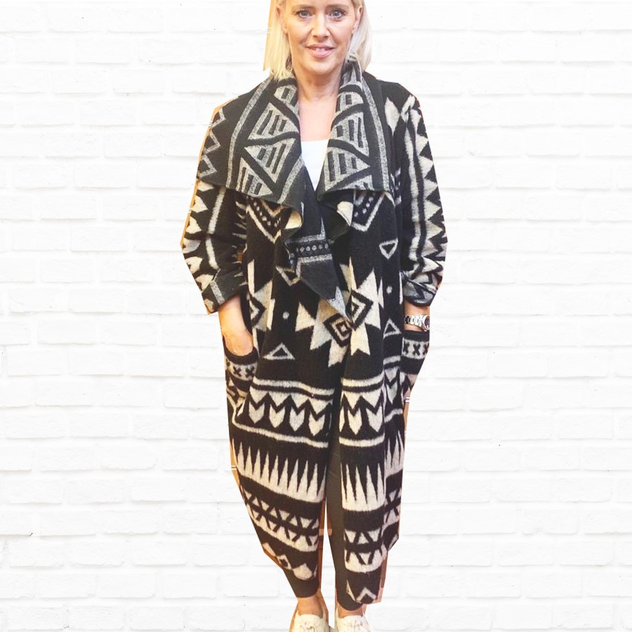 SALE WAS £69 NOW £40 Aztec Coat