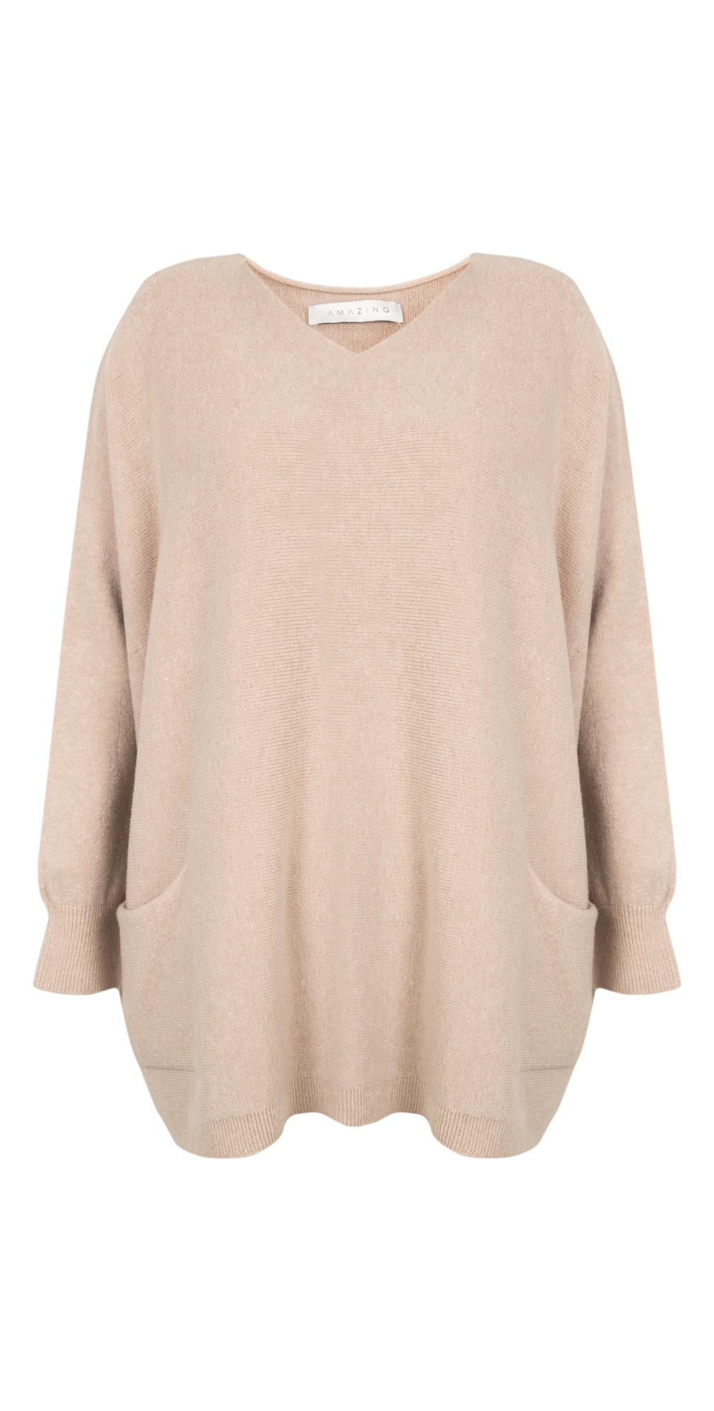 Carys Sweater Beige - Amazing Woman