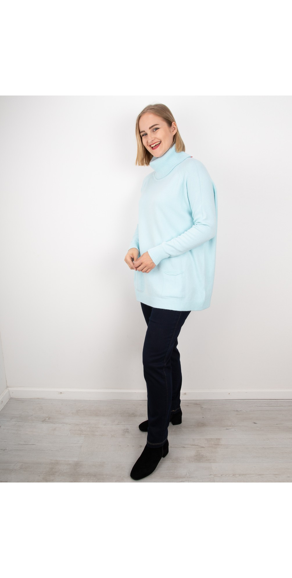 Powder Blue - Anna Sweater