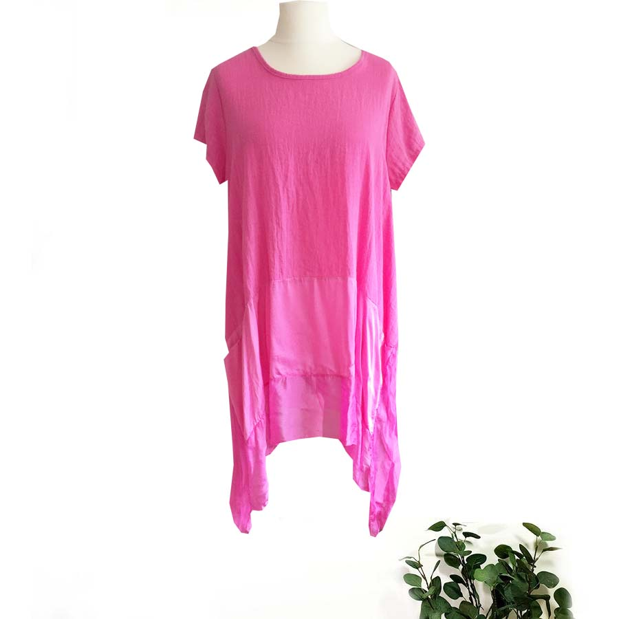 Silk Hem Style Tunic