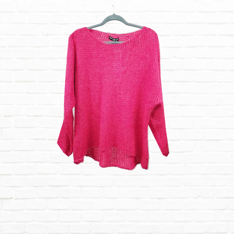 Mohair Sweater In Colours