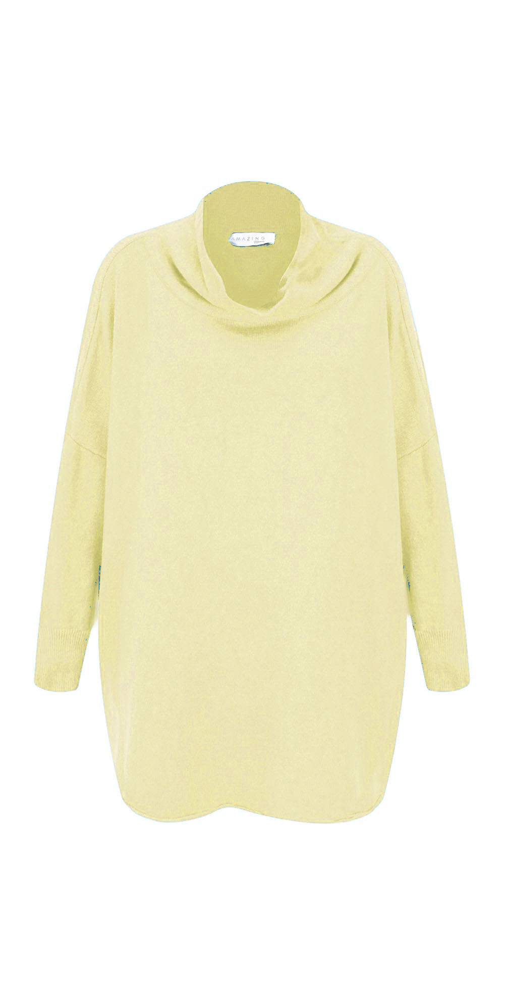 Lemon - Vera Funnel Neck Sweater