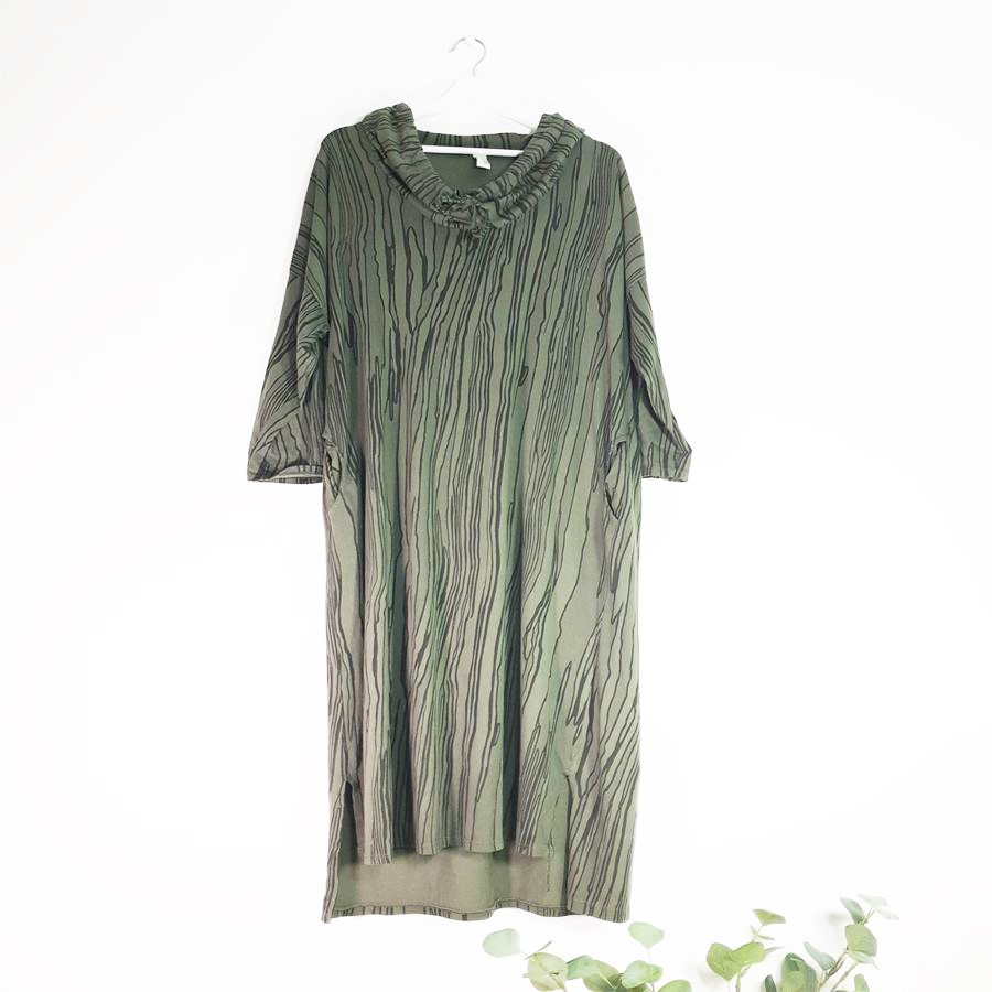 Long Dress in Olive