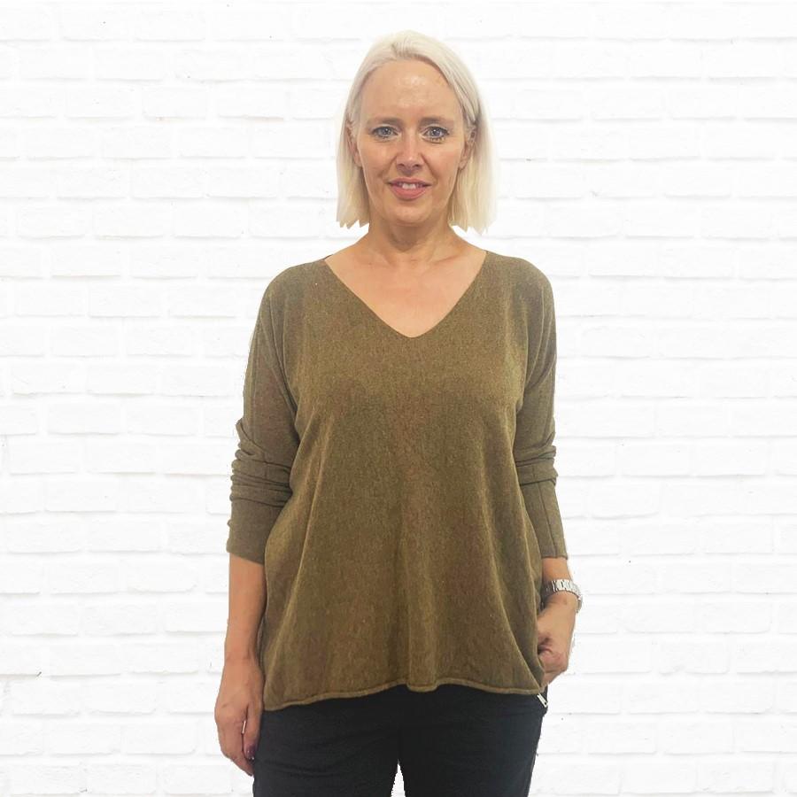 Natural Mix Soft Sweater