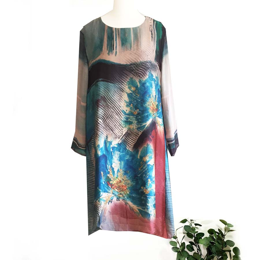 Neslay Silk Dress