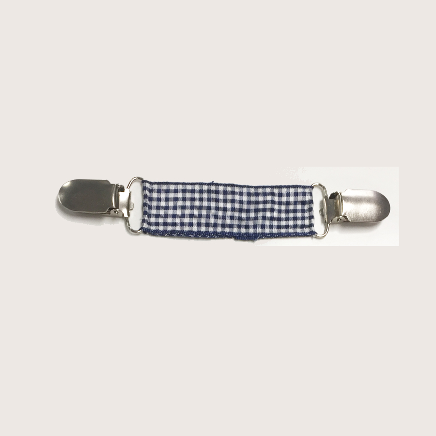 Ribbon Clip - Navy