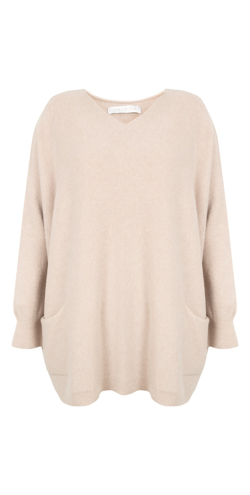Carys Sweater Ivory - Amazing Woman