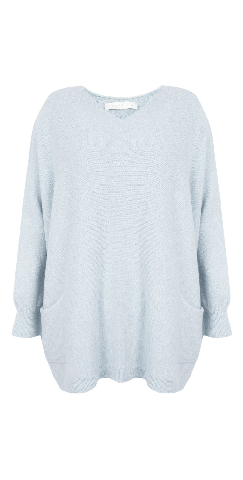 Carys Sweater Pale Blue - Amazing Woman