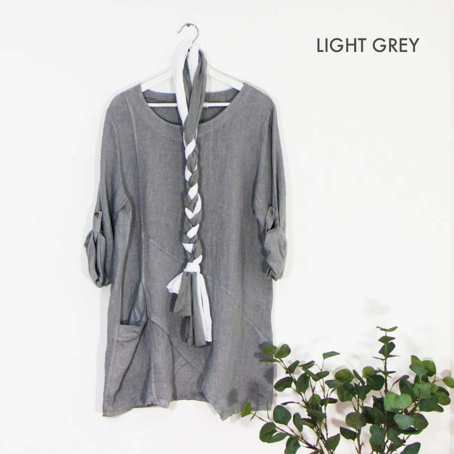 Pure Linen Tunic Sarah Tempest Designs