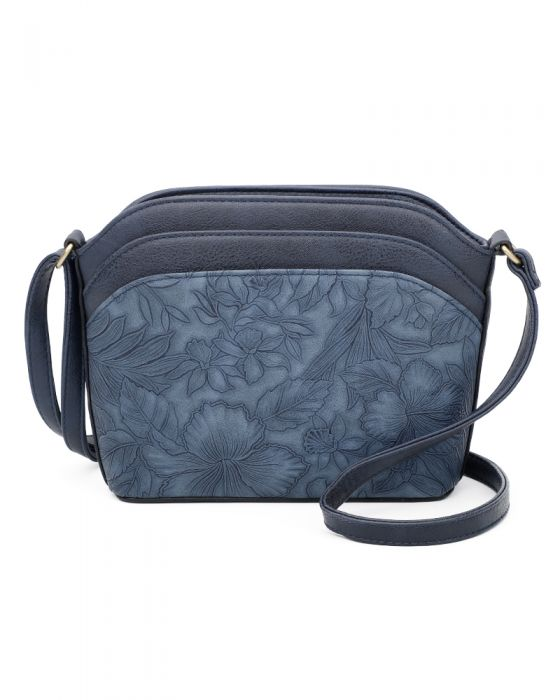 Patterned Shoulder Bag IN A CHOICE OF COLOURS