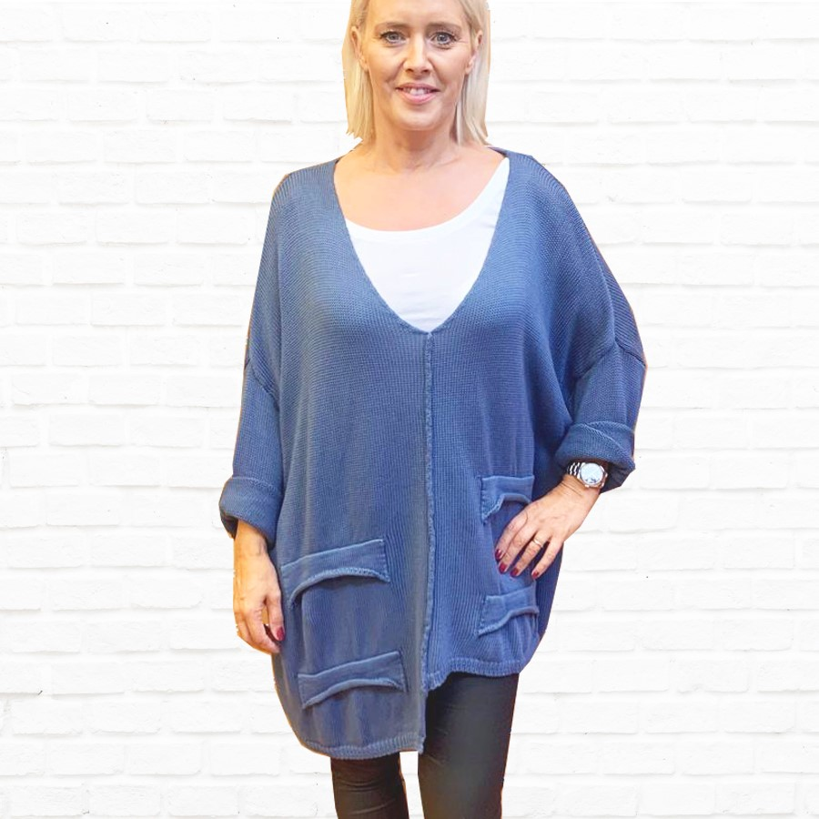 SALE WAS £55 NOW £25 Italian Knit In A Choice of Colours