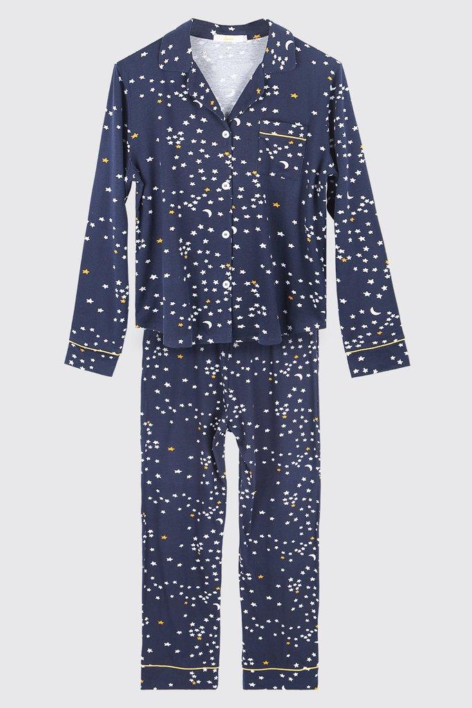 SALE WAS £39 NOW £20  Pure Cotton Moon & Star Pyjama set