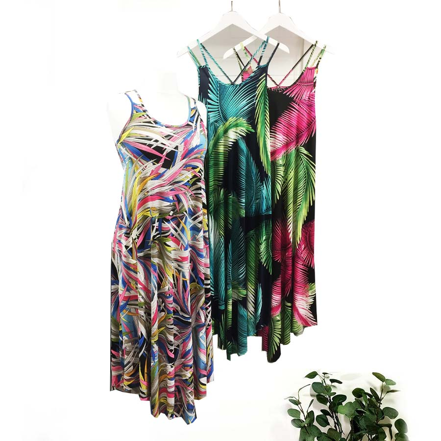 Patterned Sun Dresses