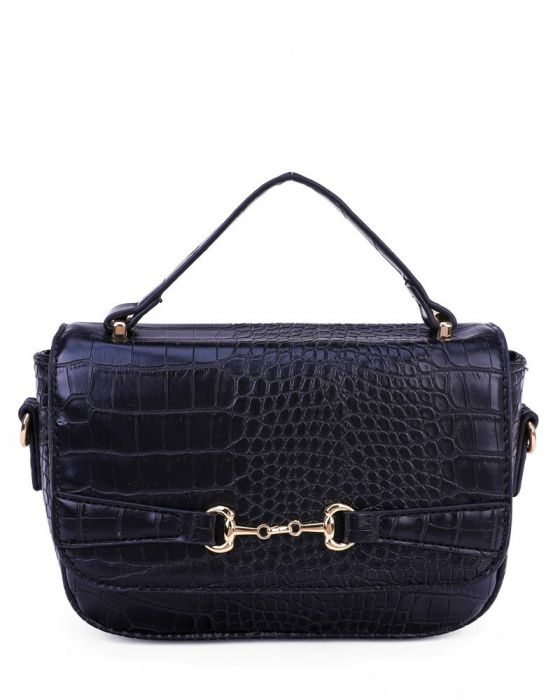 Designer Inspired Bag - Navy Blue
