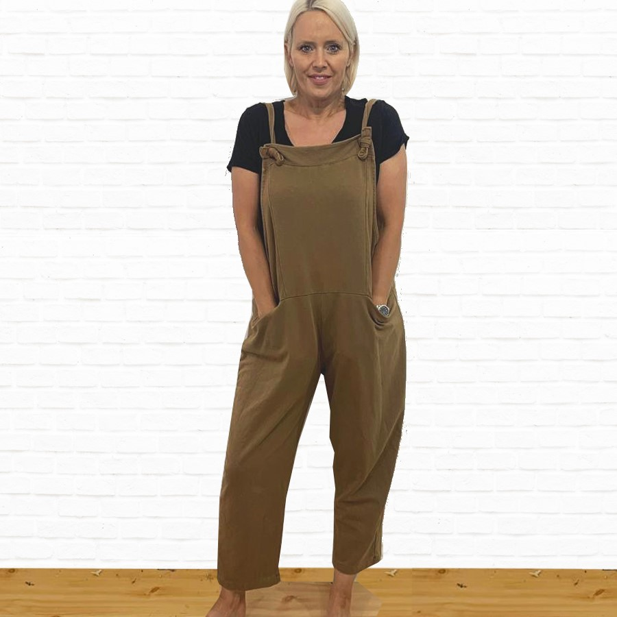 SALE WAS £45 NOW £25 Stretch Jersey Dungaree