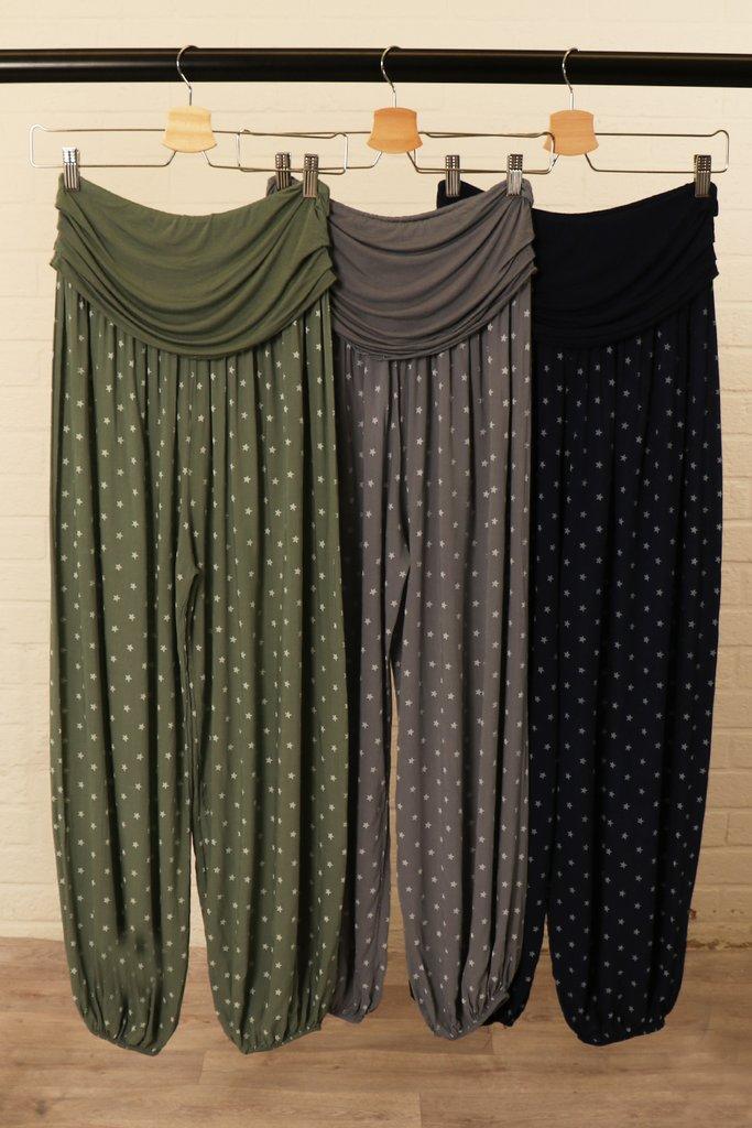 Harem Lounge Pants Choice of Colours
