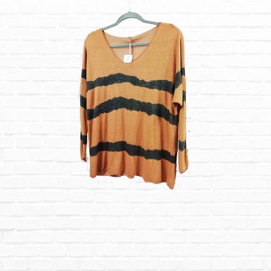 Stripe Knit Top Colours